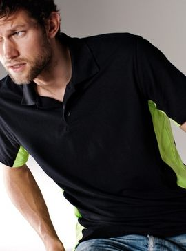 Kariban Flag Polo Shirt