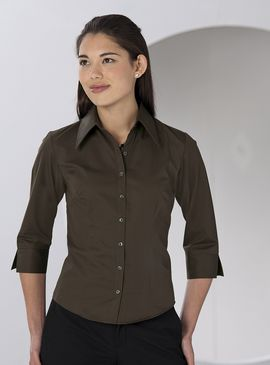 Russell Women's ¾ Sleeve Tencel® Fitted Shirt