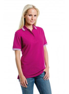 Kustom Kit Tipped Collar Polo Women's