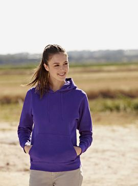 Fruit of the Loom Ladies Hooded Sweat Jacket