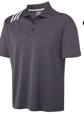 Adidas Climacool® 3-Stripe Solid Polo