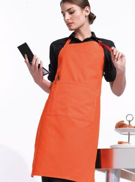 Premier Colours Bib Apron (With Pocket)