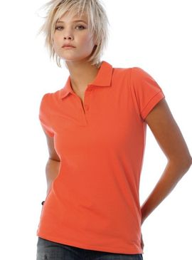 B&C Ladies Heavymill Polo Shirt