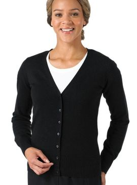 Russell Collection Ladies V-Neck Cardigan