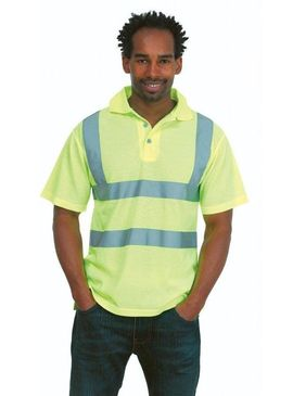 Uneek High Visibility Polo Shirt