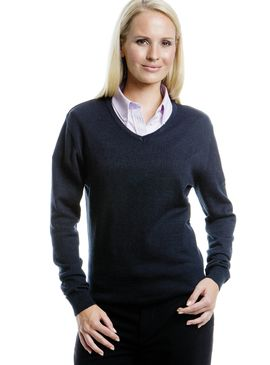 Kustom Kit Ladies V-Neck Sweater