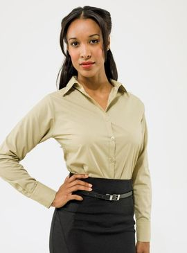 Premier Ladies Poplin Blouse