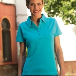 Skinni Fit Ladies Stretch Polo Shirt