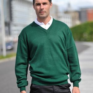 RTY Workwear V-neck Acrylic Sweater