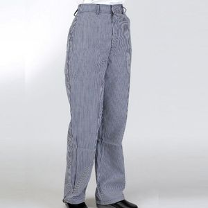 Denny's Blue/White Check Elasticated Trousers