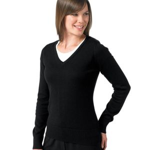 Russell Collection Ladies V-Neck Pullover