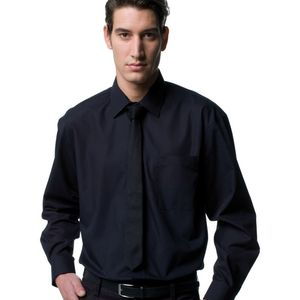 Russell Collection Polycotton Long Sleeve Shirt