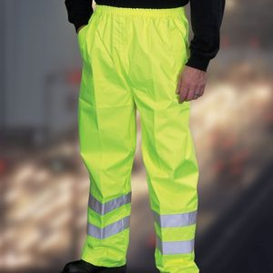Yoko Hi-Vis Waterproof Contractors Trousers