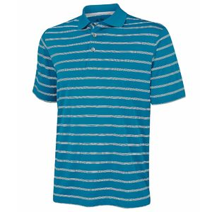 Adidas Textured Stripe Polo